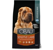 Dog adult  MEDIUM & MAXI SENSITIVE  Lamb & Rice