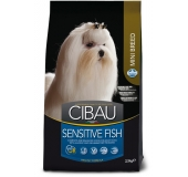 Dog adult mini sensitive fish
